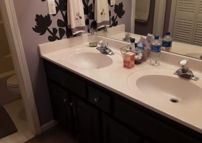 Snellville Countertop/Sink - Before