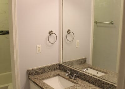 Snellville Granite Countertop/Sink - After
