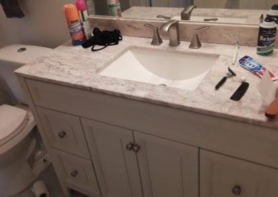 Snellville Vanity & Granite Countertop - After