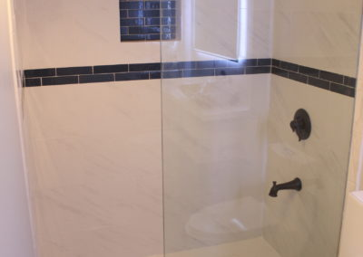 Master Shower Wet Room - After