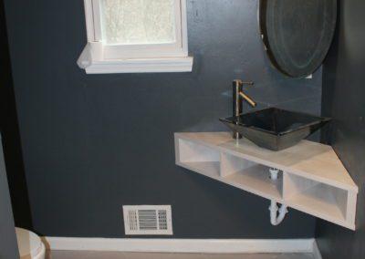 Vanity Sink Combo - After