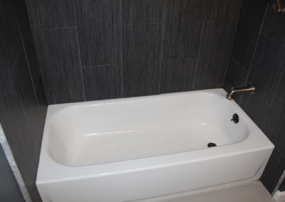 Tub and Shower Combo - After