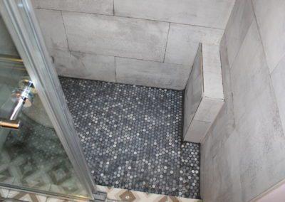 Norcross Master Shower Floor - After