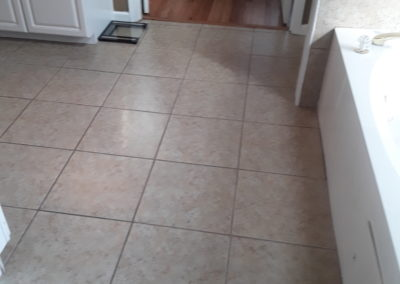 Johns Creek Master Bath Floor - Before