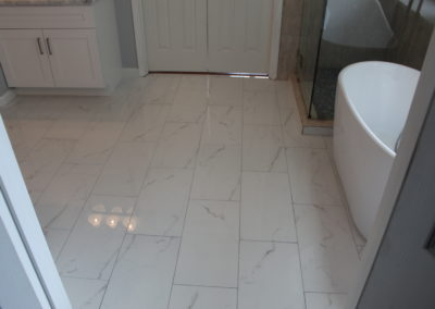 Johns Creek Master Bath Floor - After