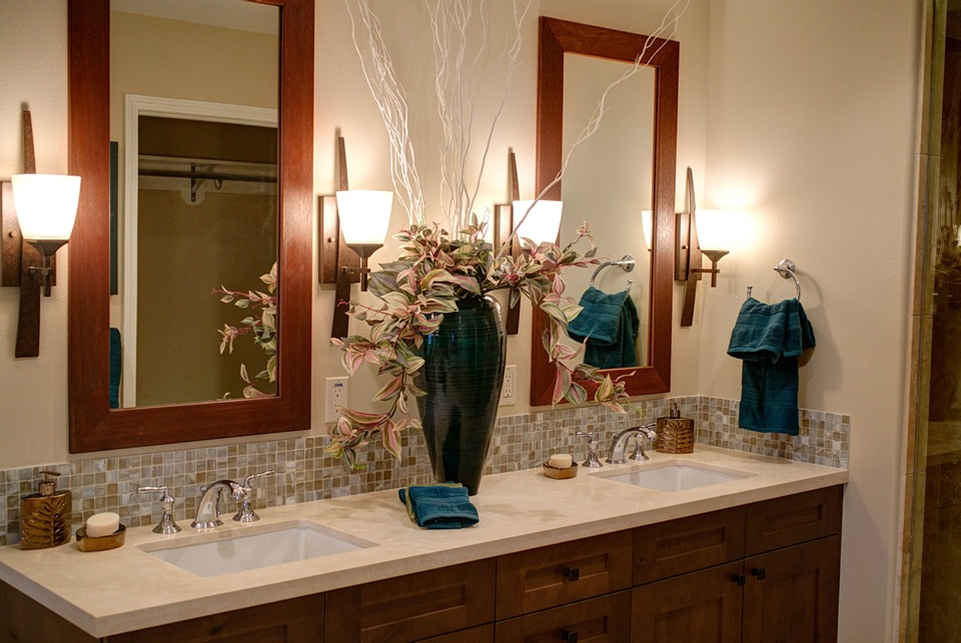 Double Sinks & Mirrors