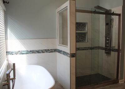 Lilburn Master Tub & Shower - After