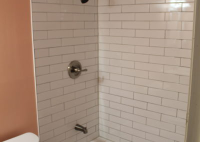 Snellville Master Shower/Tub - After