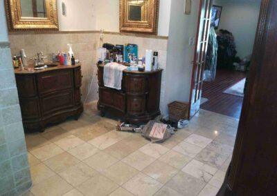 Loganville Master Vanities/Mirrors/Lights- Before