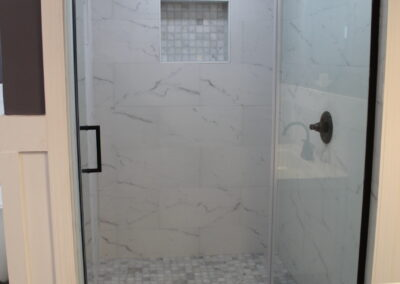Loganville Master Shower - After