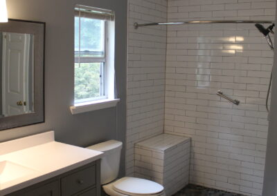 Lawrenceville Master Bathroom - After
