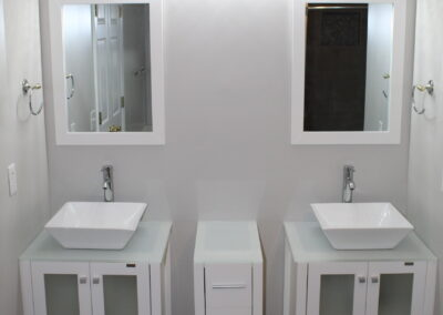Loganville Master Vanity/Mirror/Light - After