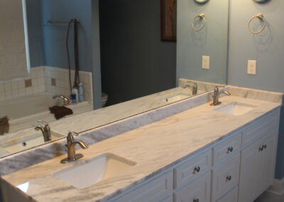 Loganville Master Countertops/Faucet - After