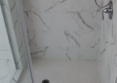 Loganville New Ensuite Shower Floor/Niche - After