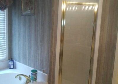 Kennesaw Master Shower - Before