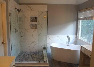 Lawrenceville Master Shower & Tub - After