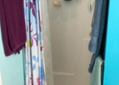 Loganville Master Shower - Before
